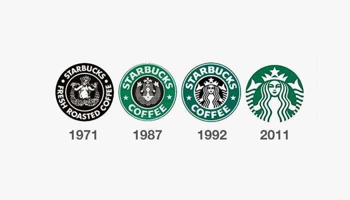 starbucks eski logolar