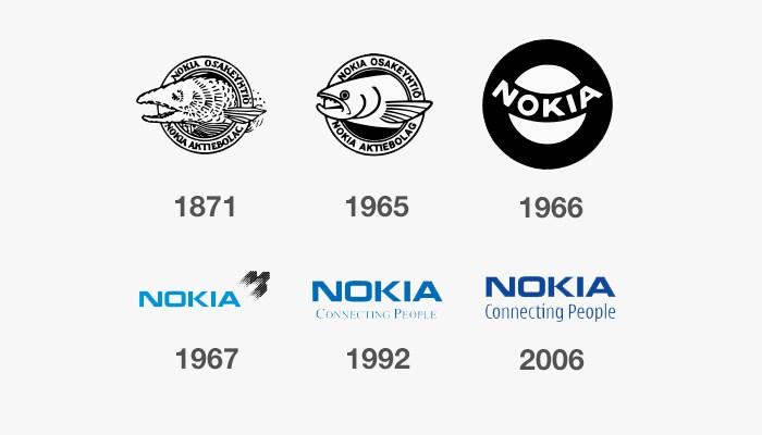 nokia eski logoları