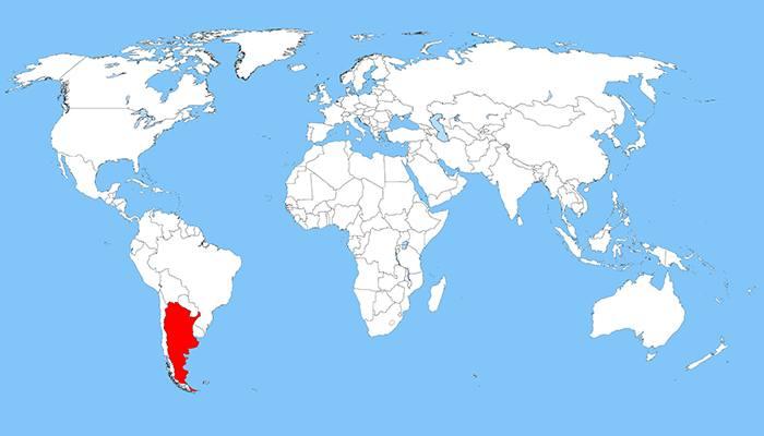 Arjantin harita