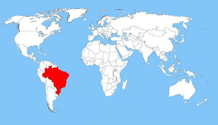 Brezilya harita