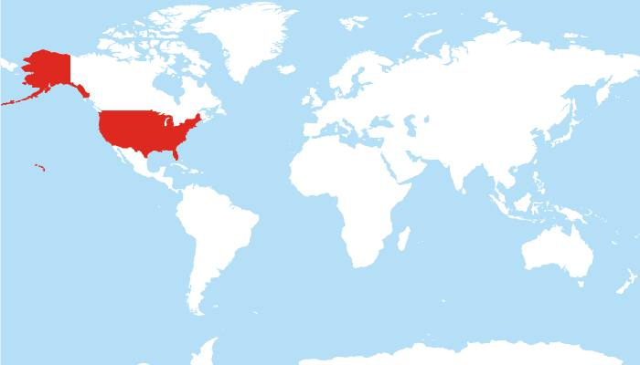 ABD harita
