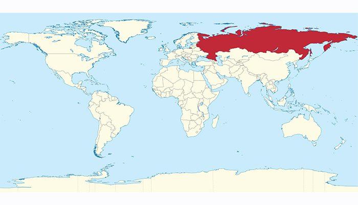 Rusya harita