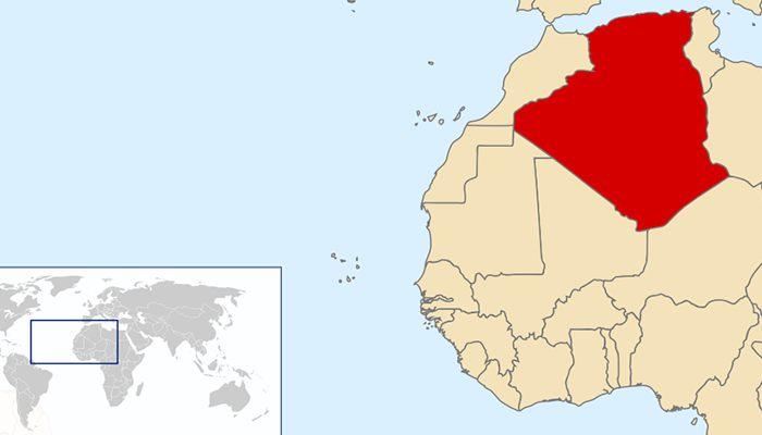 Cezayir harita